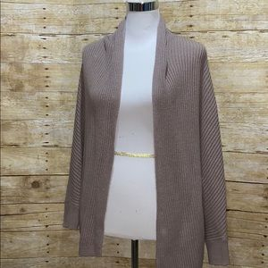 Taupe old navy cardigan